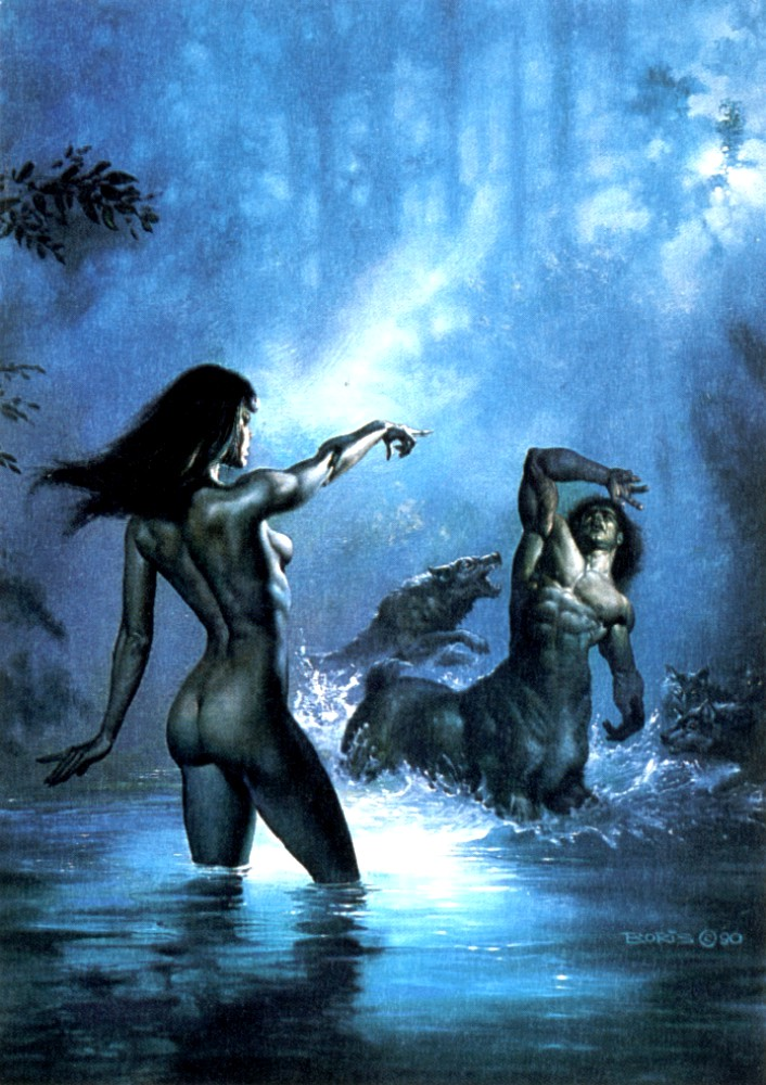 The Punishment, by Boris Vallejo