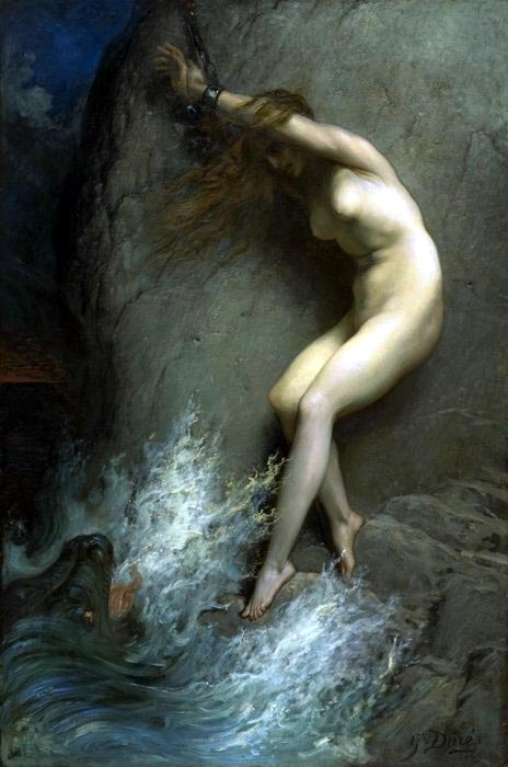 Andromeda, by Gustave Dore