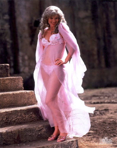 Aphrodite, as played by Tydings on Xena