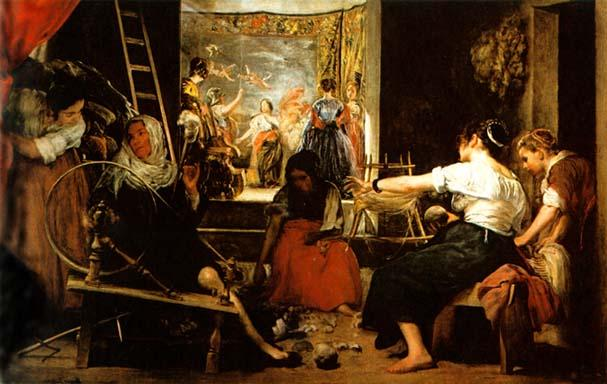 The Fable of Arachne, by Diego Velasquez