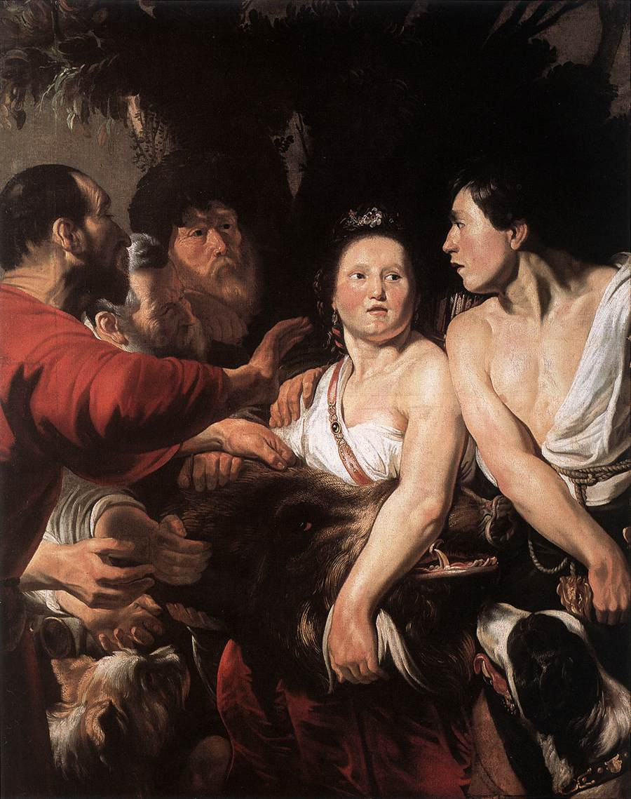Meleager and Atalanta, by Jacob Jordaens