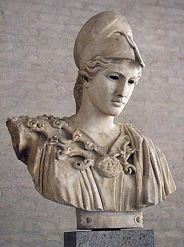 Bust of Athena