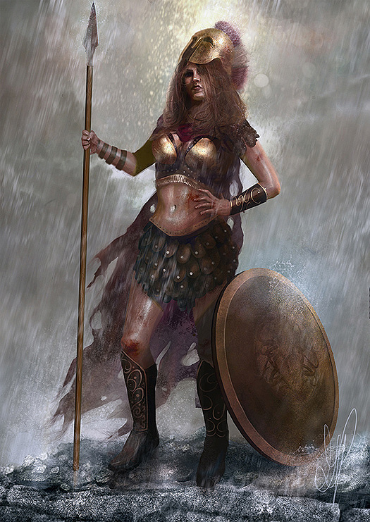 Athena, by George Patsouras