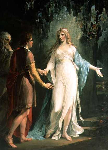 Calypso and Odysseus, by John Waterhouse