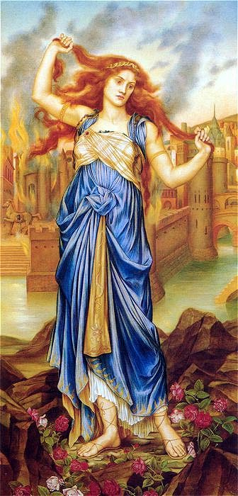 Cassandra, by Evelyn de Morgan