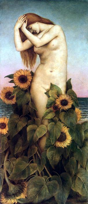 Clytie, by Evelyn de Morgan