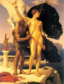 Icarus and Daedalus, by Frederic Lord Leighton