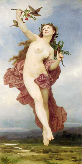 Day, by William Bouguereau