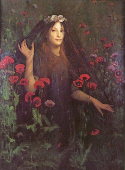 Death the Bride, by Thomas Cooper Gotch