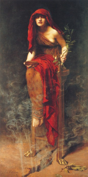 Priestess at Delphi, by Hon. John Collier