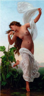 L'Aurore, by William Adolphe Bouguereau