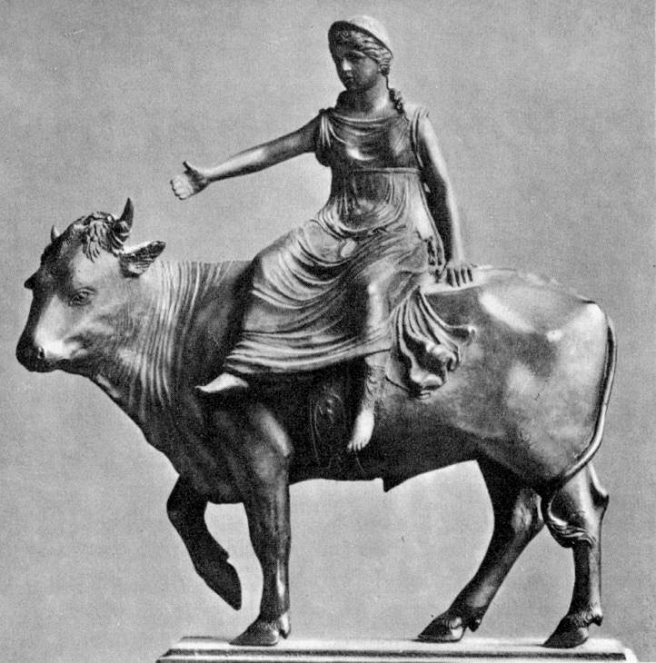 Europa and the Bull, by Bartolommeo Bellano