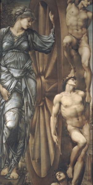 Wheel of Fortune, by Edward Burne-Jones