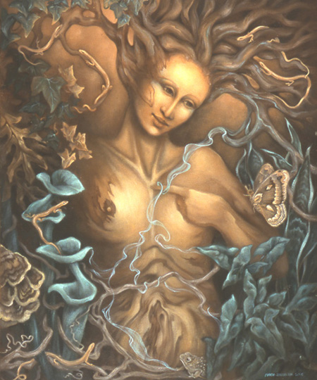 Gaia Greek Mythology Gaia  by Marcia Snedecor