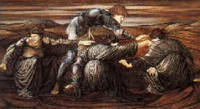 The Grey Sisters, by Evelyn de Morgan
