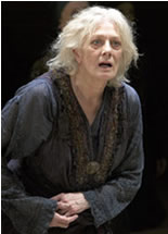 Hecuba, as played by Vanessa Redgrave