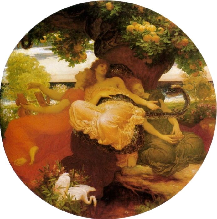 Hesperides, by Lord Frederic Leighton