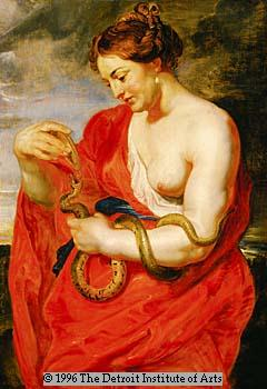 Hygeia, Goddess of Health, by Peter Paul Rubens