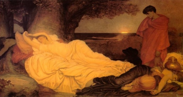 Cymon and Iphigenia, by Frederic Lord Leighton
