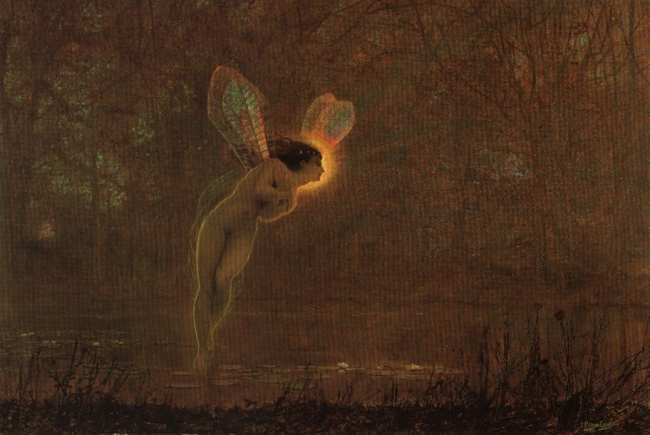 Iris, by Grimshaw
