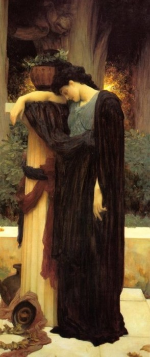 Lachrymae, by Frederic Lord Leighton