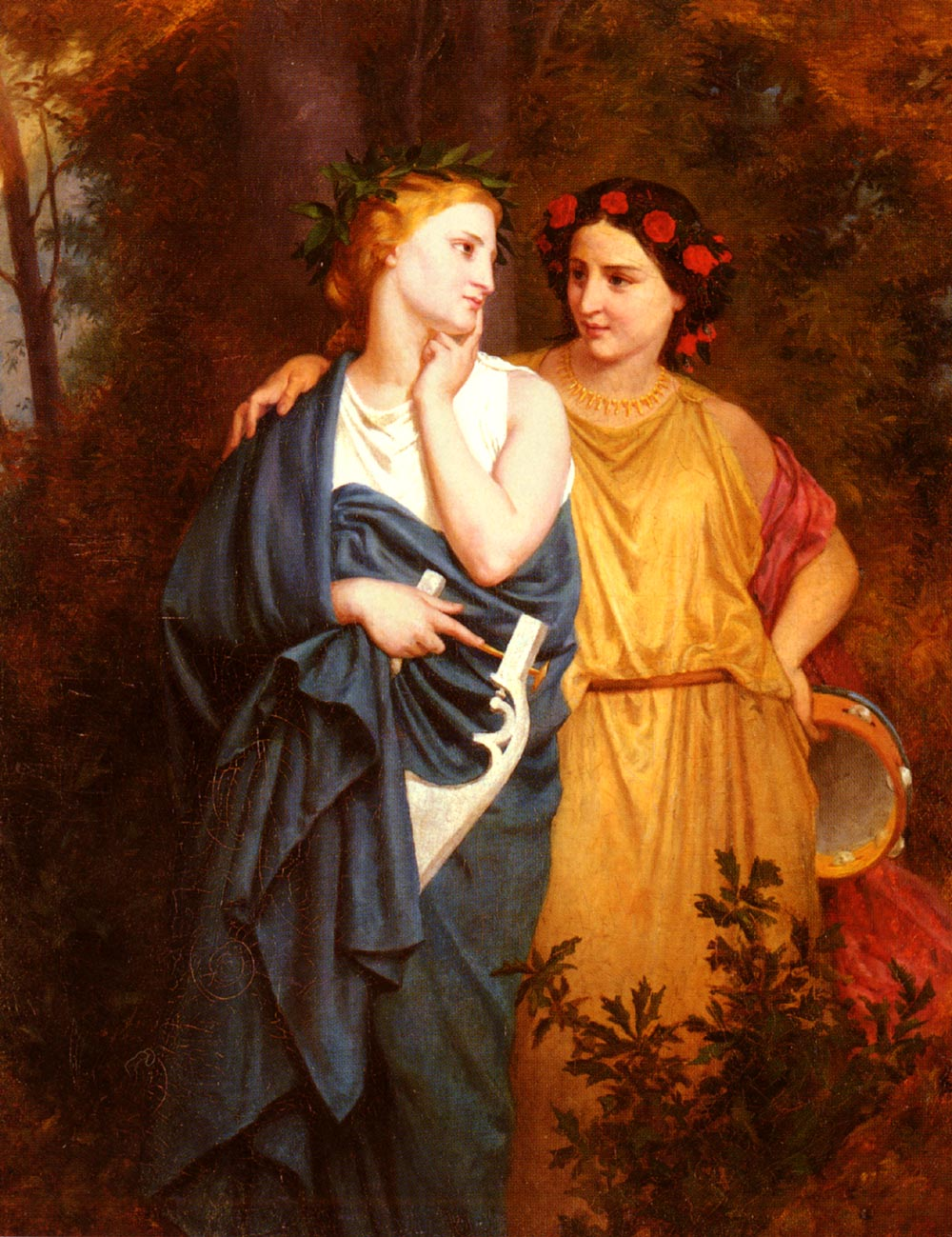 Philomela and Procne, by Elizabeth Gardener Bouguereau