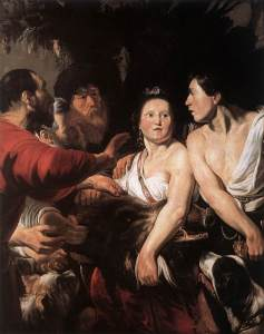 Meleager and Atalanta, by Jordaens
