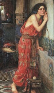 Thisbe, by John Waterhouse