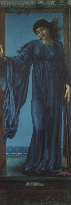 Night, by Edward Burne-Jones.