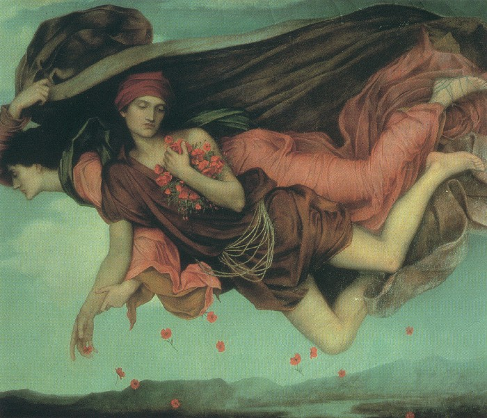 Night and Sleep, by Evelyn de Morgan