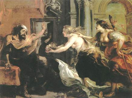 Procne and Philomela, by Rubens
