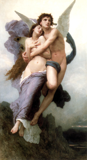 The Abduction of Psyche, by William Adolphe Bouguereau