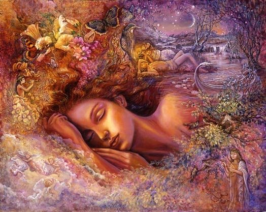 Psyche's Dream, by Josephine Wall