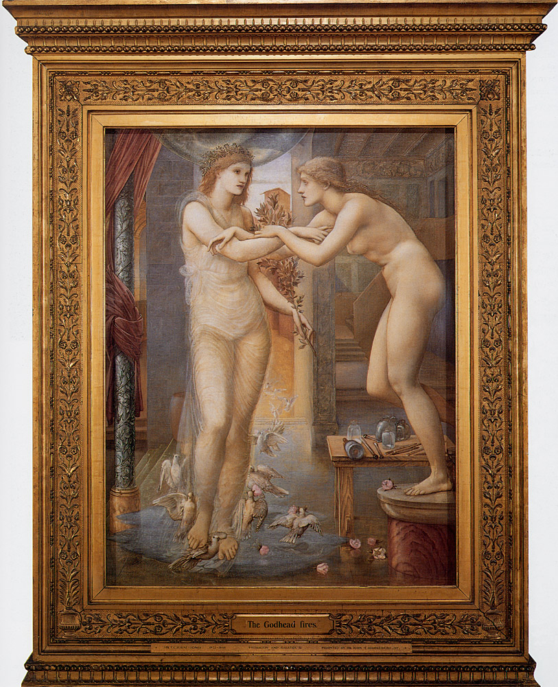 Pygmalion and the Image: III, the Godhead Fires; by Edward Burne-Jones