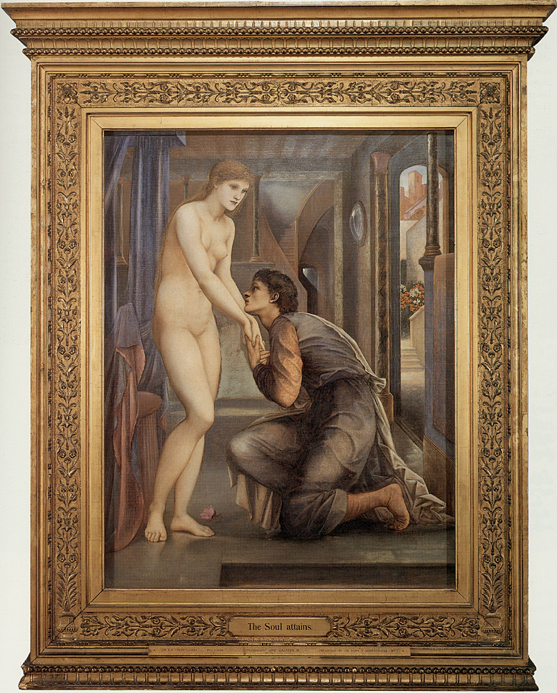 Pygmalion and the Image: IV, the Soul Attains; by Edward Burne-Jones