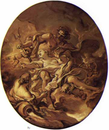 The Rape of Persephone, by Francois Boucher