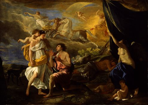 Selene and Endymion, by Edward Poussin