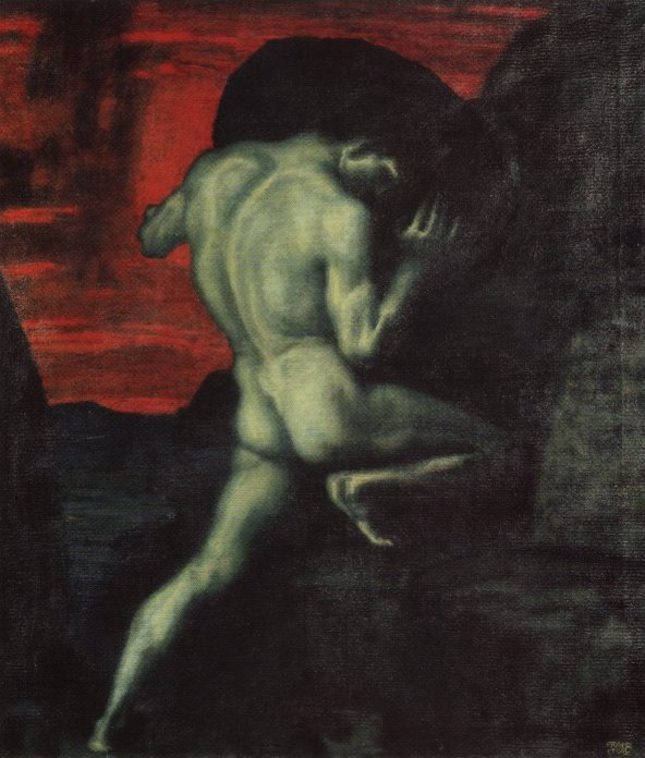 Sisyphus, by Franz von Stuck