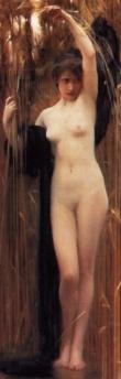 Syrinx, by Arthur Hacker