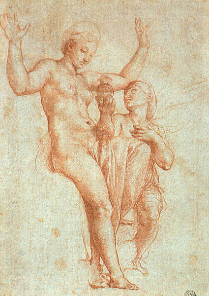Psyche Offering Venus the Water of Styx, by Raphael