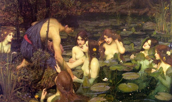 Hylas and the Nymphs, by John William Waterhouse