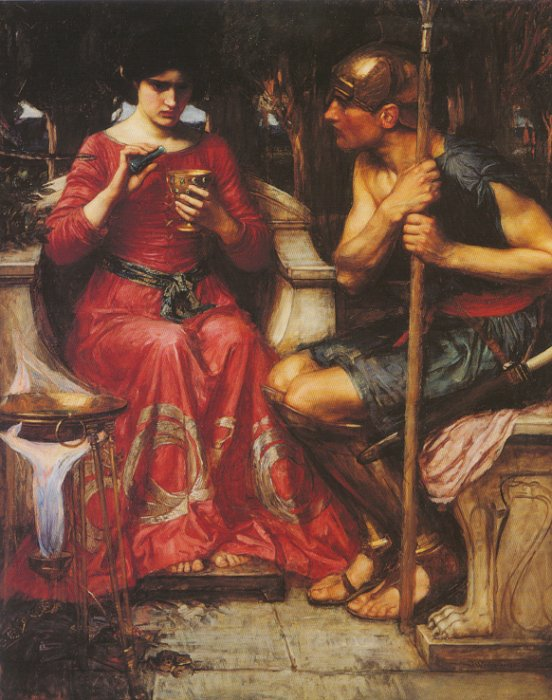 Medea, by John William Waterhouse