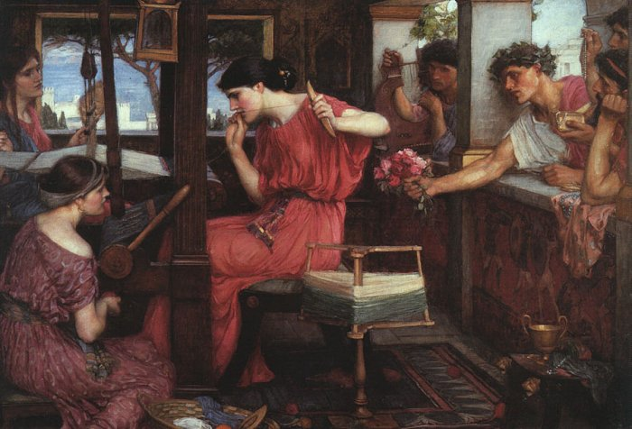 Penelope, by Waterhouse