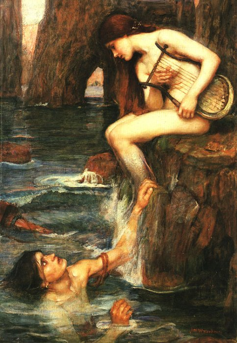 The Sirens, by Waterhouse
