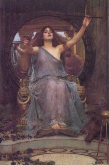 Circe Handing the Cup to Ulysses, by John William Waterhouse