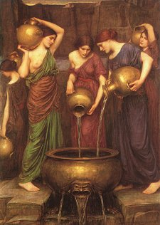 Danaides, by John William Waterhouse