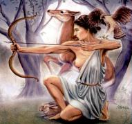 Artemis, Goddess of the Hunt