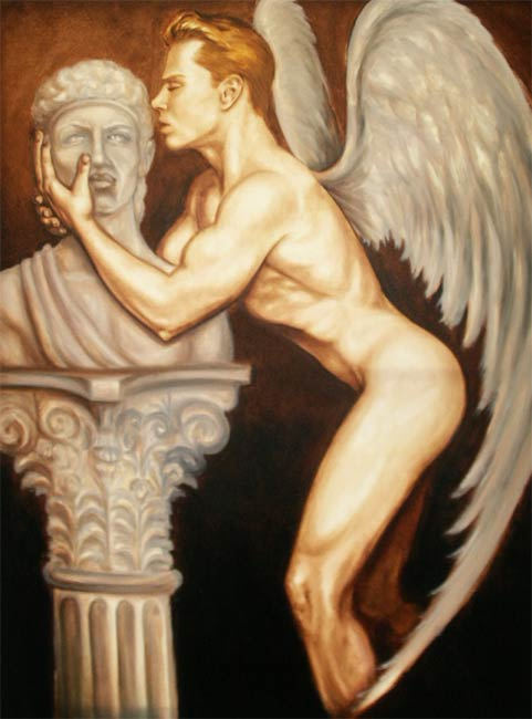Eros with the Bust of Apollo, by Charles A. Smith II