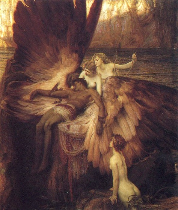 Lament for Icarus, by Herbert Draper