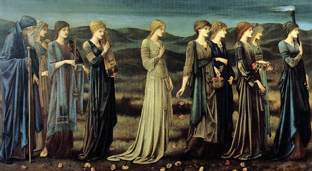 The Wedding of Psyche, by Edward Burne-Jones